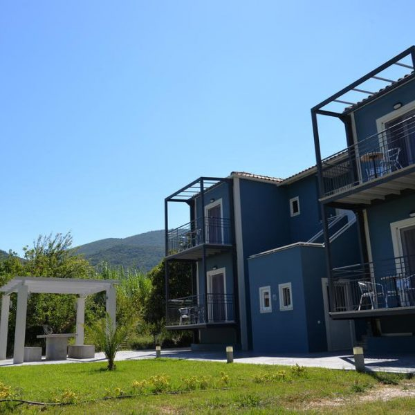 Cosmos Apartments Lefkada Outdoor Area